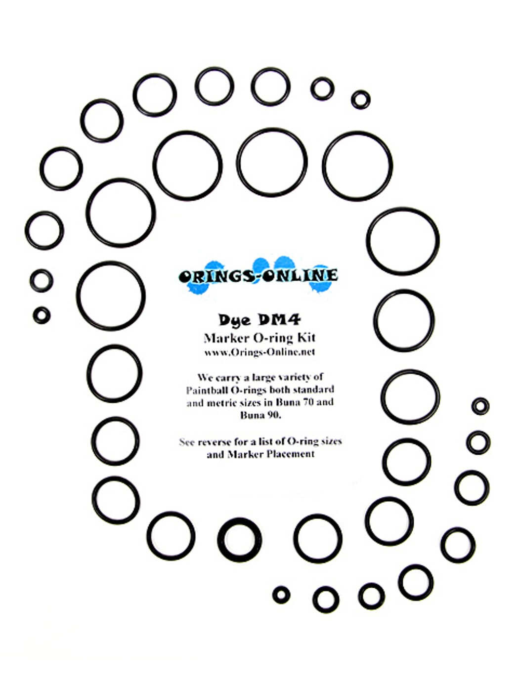 DYE - DM4 Marker O-ring Kit